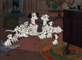 Animation Art:Limited Edition Cel, 101 Dalmatians Limited Edition Cel #107/500 (Walt Disney, 1961/91)....