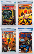 Bronze Age (1970-1979):Western, Weird Western Tales CBCS-Graded Group of 4 (DC, 1972-85).... (Total: 4 Comic Books)