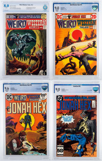 Weird Western Tales CBCS-Graded Group of 4 (DC, 1972-85).... (Total: 4 Comic Books)