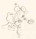 Animation Art:Production Drawing, Minnie Mouse and Pluto Animation Drawings Group of 2 (Walt Disney,1932-33).... (Total: 2 )