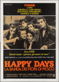 "Movie Posters:Drama, The Lords of Flatbush (Columbia, 1979). First Release Italian 4 - Fogli (55.25"" X 77.25""). International Title: Happy Days..."