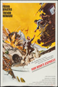"Movie Posters:War, Von Ryan's Express (20th Century Fox, 1965). One Sheet (27"" X 41"")& Uncut Pressbook (10 Pages, 13"" X 16.25""). War.. ... (Total: 2Items)"