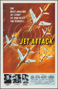 "Movie Posters:War, Jet Attack (American International, 1958). Flat Folded One Sheet(27"" X 41""). War.. ..."