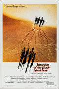 "Movie Posters:Science Fiction, Invasion of the Body Snatchers (United Artists, 1978). One Sheet(27"" X 41""). Science Fiction.. ..."