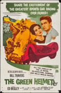 """Movie Posters:Sports, The Green Helmet (MGM, 1961). One Sheet (27"""" X 41""""). Sports.. ..."""