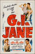 "Movie Posters:Musical, G.I. Jane (Lippert, 1951). One Sheet (27"" X 41""). Musical.. ..."