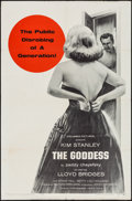 "Movie Posters:Drama, The Goddess & Other Lot (Columbia, 1958). One Sheets (2) (27"" X41""). Drama.. ... (Total: 2 Items)"