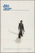"Movie Posters:Western, Jeremiah Johnson (Warner Brothers, 1972). One Sheet (27"" X 41"")Style C. Western.. ..."