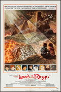 "Movie Posters:Animation, The Lord of the Rings (United Artists, 1978). One Sheet (27"" X 41"") Style B, Tom Jung Artwork. Animation.. ..."