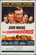 """Movie Posters:Western, The Comancheros (20th Century Fox, 1961). One Sheet (27"""" X 40.5"""").Western.. ..."""