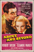 "Movie Posters:Drama, Above and Beyond (MGM, 1952). One Sheet (27"" X 41""). Drama.. ..."