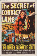"""Movie Posters:Western, The Secret of Convict Lake & Other Lot (20th Century Fox, 1951). One Sheets (2) (27"""" X 41""""). Western.. ... (Total: 2 Items)"""