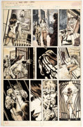 Original Comic Art:Panel Pages, Bill Sienkiewicz and Eric von Krupp The Tomb of Dracula #6Story Page 9 Original Art (Marvel Comics, 1980)....
