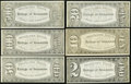 Obsoletes By State:Oregon, Baker City, OR- College of Commerce Students' Bank $2; $10; $20;$50; $100; $500 ND (circa 1900) Schingoethe UNL. ... (Total: 6notes)