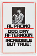 "Movie Posters:Action, Dog Day Afternoon (Warner Brothers, 1975). One Sheet (27"" X 41"").Action.. ..."