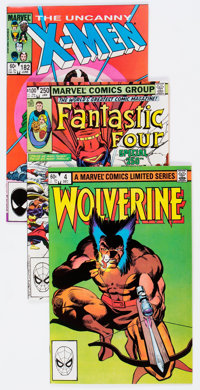 Marvel Modern Age Long Box Group (Marvel, 1980s-90s) Condition: Average NM-