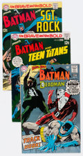 Silver Age (1956-1969):Superhero, The Brave and the Bold Group of 29 (DC, 1968-83).... (Total: 29 Comic Books)