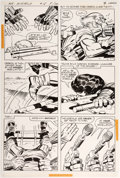 Original Comic Art:Panel Pages, Jack Kirby and Mike Royer Mister Miracle #18 Story Page 2Original Art (DC, 1974)....