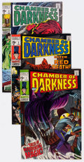 Bronze Age (1970-1979):Horror, Chamber of Darkness Group of 6 (Marvel, 1969-70) Condition: AverageNM-.... (Total: 6 Comic Books)
