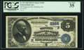 National Bank Notes:Massachusetts, Fitchburg, MA - $5 1882 Date Back Fr. 534 The Wachusett NB Ch. # (N)2265. ...