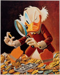 Memorabilia:Disney, Carl Barks The Expert Signed Limited Edition Miniature Lithograph Print #174/595 (Another Rainbow, 1997)....