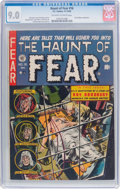 Golden Age (1938-1955):Horror, Haunt of Fear #16 (EC, 1952) CGC VF/NM 9.0 Off-white to whitepages....