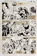 Original Comic Art:Panel Pages, Bob Hall and Mike Esposito Marvel Team-Up #126 Story Page 4 Luke Cage Original Art (Marvel, 1983)....