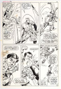 Original Comic Art:Panel Pages, Dick Ayers and John Severin Captain Savage and His LeatherneckRaiders #18 Page 12 Original Art (Marvel, 1970)....