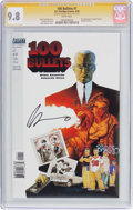 Modern Age (1980-Present):Miscellaneous, 100 Bullets #1 Signature Series (DC/Vertigo, 1999) CGC NM/MT 9.8 White pages....
