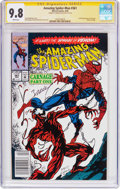 Modern Age (1980-Present):Superhero, The Amazing Spider-Man #361 Signature Series (Marvel, 1992) CGCNM/MT 9.8 White pages....