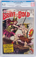 Silver Age (1956-1969):Adventure, The Brave and the Bold #19 (DC, 1958) CGC VG+ 4.5 Cream to off-white pages....