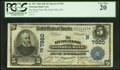 National Bank Notes:Massachusetts, Hyde Park, MA - $5 1902 Date Back Fr. 591 The Hyde Park NB Ch. # (N)7920. ...