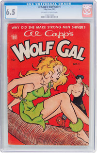 Al Capp's Wolf Gal #1 (Toby Publishing, 1951) CGC FN+ 6.5 Off-white to white pages
