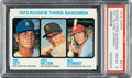Baseball Cards:Singles (1970-Now), 1973 Topps Mike Schmidt - Rookie 3rd Basemen #615 PSA NM-MT 8....