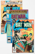 Modern Age (1980-Present):Superhero, Batman Group of 25 (DC, 1980-86) Condition: Average VF.... (Total:25 Comic Books)