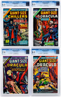 Bronze Age (1970-1979):Horror, Giant-Size Chillers/Giant-Size Dracula #1-5 CGC-Graded Group(Marvel, 1974-75).... (Total: 5 Comic Books)