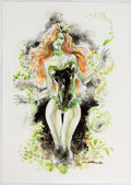 Original Comic Art:Illustrations, Yildiray Cinar - Poison Ivy Illustration Original Art (2009)....
