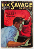 Pulps:Hero, Doc Savage - August 1933 (Street & Smith) Condition: Apparent GD-....