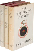 Books:Science Fiction & Fantasy, J. R. R. Tolkien. The Lord of the Rings, comprisedof: The Fellowship of the Ring. London: Georg... (Total: 3Items)