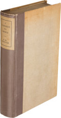 Books:Literature 1900-up, E. M. Forster. A Passage to India. London: Edwin Arnold& Co., 1924. First edition, limited issue, limited to 200 co...