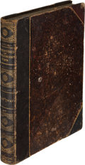 Books:Literature Pre-1900, Mark Twain. Adventures of Huckleberry Finn. New York: Charles L. Webster and Company, 1885. First U. S. edition,...