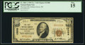 National Bank Notes:Wisconsin, Soldiers Grove, WI - $10 1929 Ty. 1 The First NB Ch. # 13308. ...