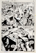 Original Comic Art:Panel Pages, John Buscema and Jim Mooney Amazing Spider-Man #76 TheLizard Original Art (Marvel, 1969)....