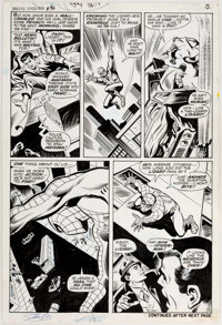 John Buscema and Jim Mooney Amazing Spider-Man #76 The Lizard Original Art (Marvel, 1969)
