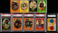 Football Cards:Sets, 1958 Topps Football Complete Set (131/132) Plus Felt Initial Card. ...