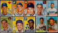 Baseball Cards:Lots, 1954 Topps & Bowman Collection (97). ...