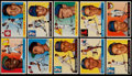 Baseball Cards:Lots, 1955 Topps Baseball Collection (72) With 18 High #'s....
