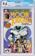 Modern Age (1980-Present):Superhero, Moon Knight #1 (Marvel, 1980) CGC NM+ 9.6 White pages....