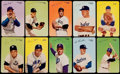 Baseball Cards:Sets, 1953 Mother's Cookie Pacific Coast League Baseball Complete Set (63). ...