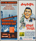 "Movie Posters:Short Subject, Wonders of Manhattan & Others Lot (Columbia, 1956). AustralianDaybills (6) (13"" X 30"") & Australian One Sheets (3) (27"" X4... (Total: 9 Items)"